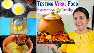 Testing VIRAL Food - Expectation vs Reality...| CookWithNisha