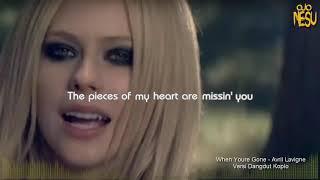 When Youre Gone Avril Lavigne Versi Dangdut Koplo