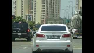 Driving to Palm Jumeirah Going to Atlantis Resort Jumeirah Dubai