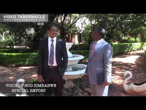 SPECIAL REPORT from the Voice of God Recordings Zimbabwe, 30/04/2014 - With Bro Raymond Ruzvidzo