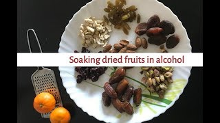 Fruit and nut Christmas cake Part 1 | Soak dried fruits | Common questions answered