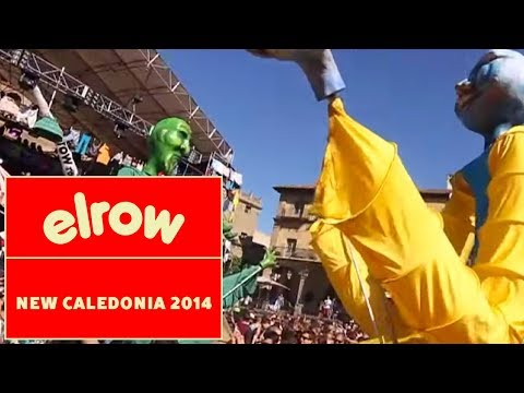 Promo elrow goes to New Caledonia Island Booom Festival 2014