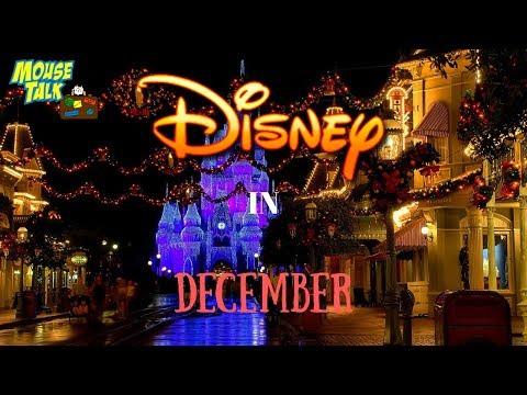 Visiting DisneyWorld In December