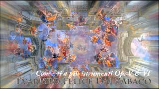 Gambar cover E. F. dall'Abaco - Concerti a più istrumenti, Op. 5, 6