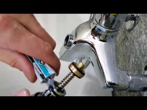 Armatur Badewanne reparieren/Umsteller wechseln einfache Anleitung