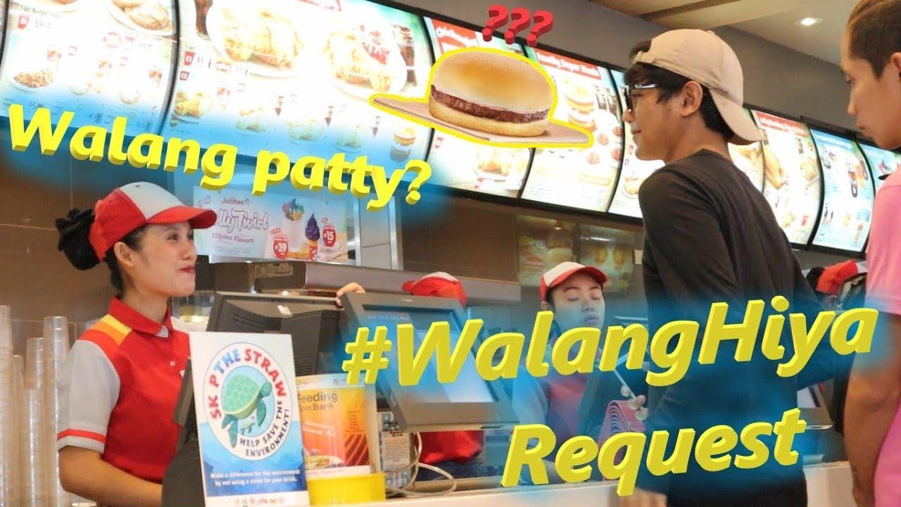 Bumili ng YAM BURGER at ipatanggal ang PATTY!! (Prank) | #WalangHiya Request