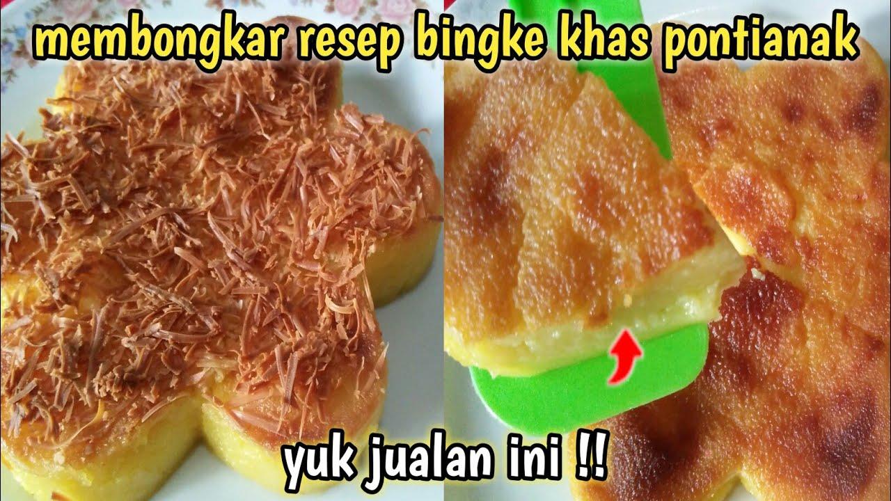 Resep Kue Bingka Ubi Kayu Bingka Singkong Youtube