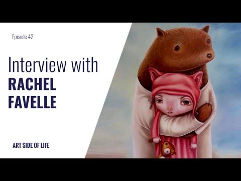HOW TO DEVELOP YOUR ART SKILLS -WITH RACHEL FAVELLE (EP.42)