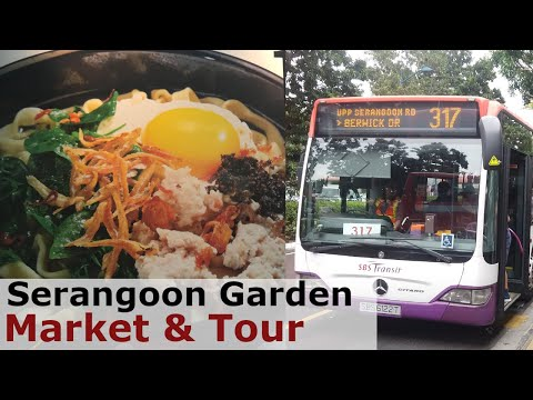 [Serangoon Garden Market & Bus Tour] 5 Favourite Stalls Singapore Hawker Centre