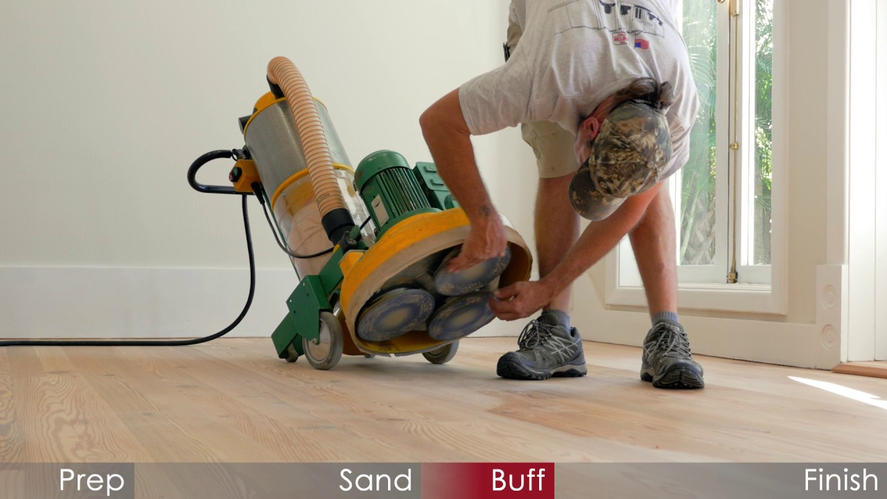 The Floor Doctor | Wood Floor Refinish On The Key