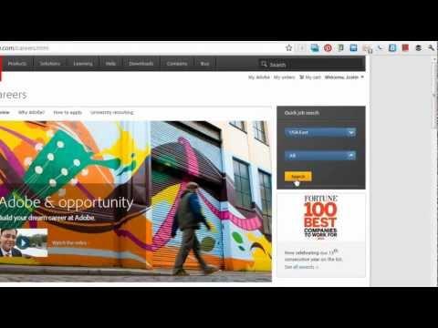 Sharing Adobe Job Reqs