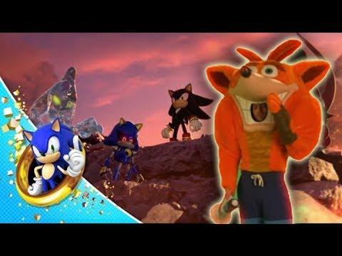 Crash Bandicoot In Sonic Force #CustomCrash