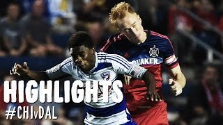 HIGHLIGHTS: Chicago Fire vs. FC Dallas | August 30, 2014