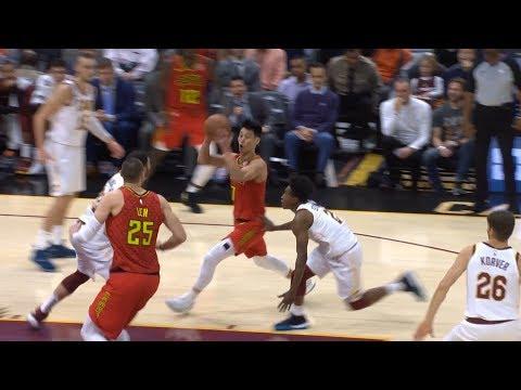 Jeremy Lin's Best Game as a Hawk thus far -10/30/18 Hawks at Cavs