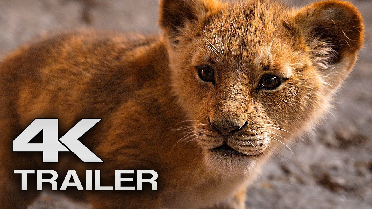 The Lion King Trailer 2 4k Ultra Hd 2019 Disney Live Action Movie