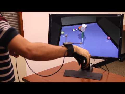 A Virtual Reality System for Hand Manipulation