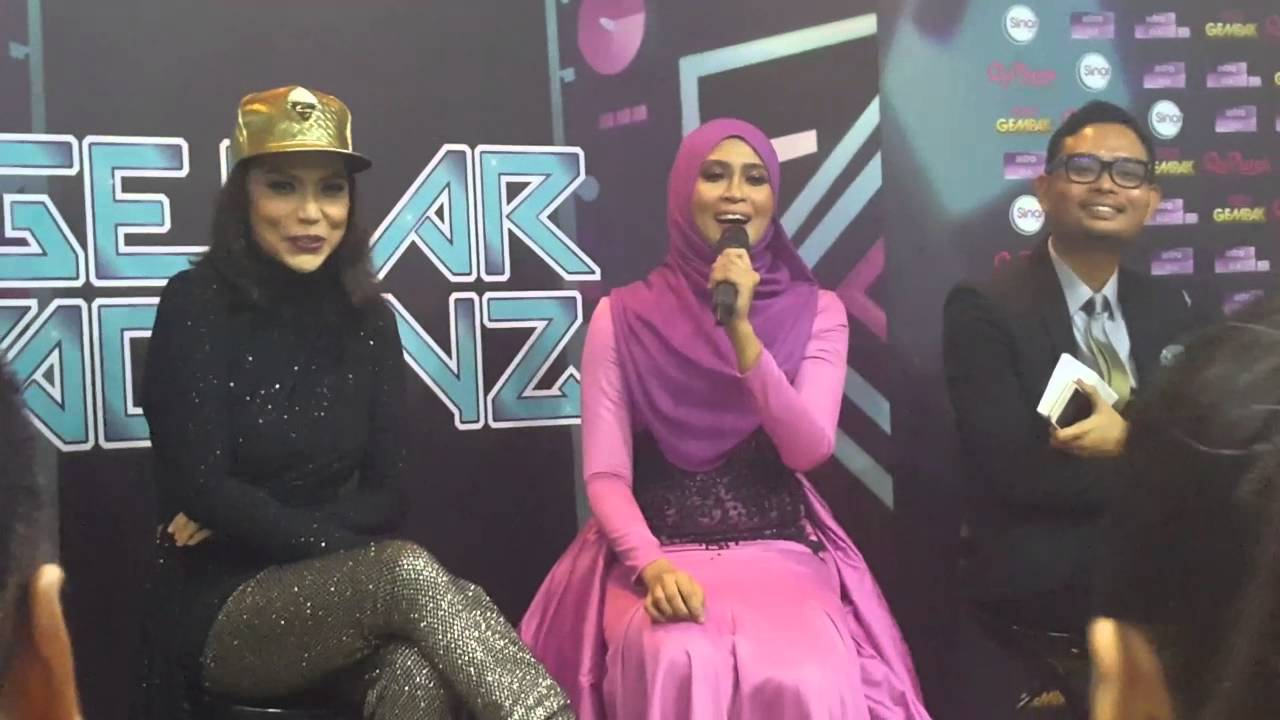 Siti Nordiana Juara Gegar Vaganza Musim Ke 2 Youtube