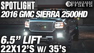 Spotlight - 2016 Gmc Sierra 2500HD, 6.5