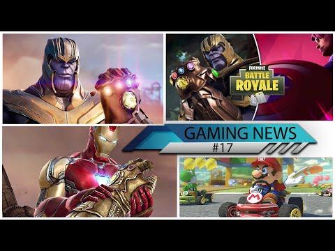 GAMING NEWS #17 - Avengers Endgame Mobile Game, Fortnite 8.50 Endgame Update, Mario Kart Tour Mobile
