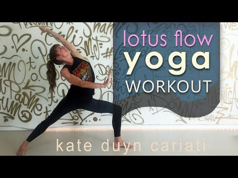 Heart Centered Lotus Flow Yoga Class