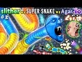 SLITHER.io #2: vs. AGAR.io #4 vs. SUPER SNAKE.io #1 (FGTEEV Duddy Plays & Ranks All 3!!  Favorite??)