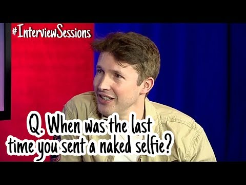 James Blunt's Most Awkward Interview | Rapid Fire Questions | 2017