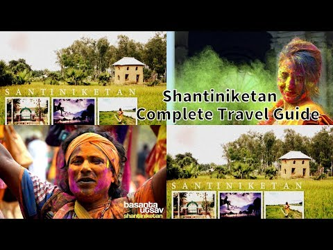 Shantiniketan Complete Travel Guide   Day 1   শান্তিনিকেতন বসন্ত উৎসব ২০১৮
