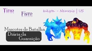 Mascotes de Batalha - Derrotando Tirso e Fiero
