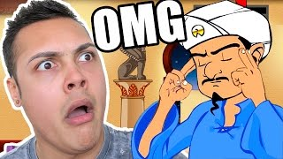 AKINATOR KNOWS EXACTLY WHO I AM !?!?! (Akinator)