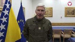 Weihnachtsgrüße vom Chef des Generalstabes General Robert Brieger