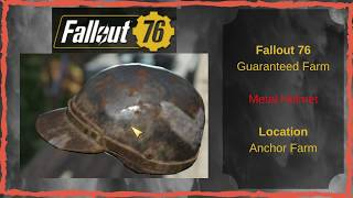 Where Do I Find the Metal Helmet in Fallout 76? Cool cosmetic head piece!
