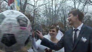 Видеооператор на свадьбу, Донецк. Свадьба зимой