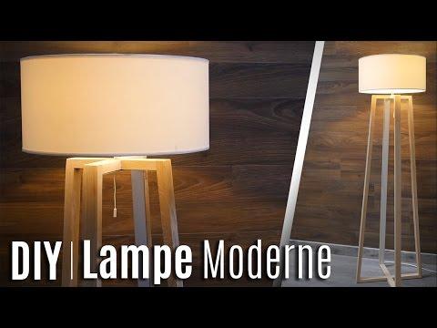 COMMENT FABRIQUER UNE LAMPE MODERNE