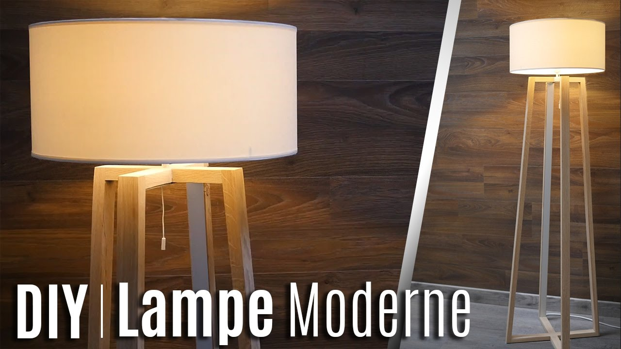comment fabriquer une lampe moderne youtube. Black Bedroom Furniture Sets. Home Design Ideas