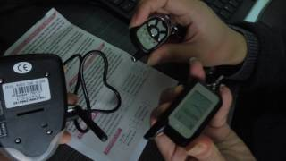 cardot diy 2 way car alarm system remote central learning process