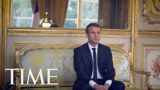 Emmanuel Macron On Russian Interference, The Threat Of Terrorism, The Paris Agreement & More | TIME