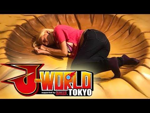 DRAGON BALL Z THEME PARK - J-WORLD!!! - Tokyo Vlog Day 2 Part 2