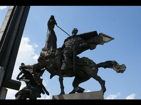 """Monument to the Asen Dynasty in Veliko Tarnovo /The Assens Monument / Паметник """"Асеневци"""" [Full HD]"""