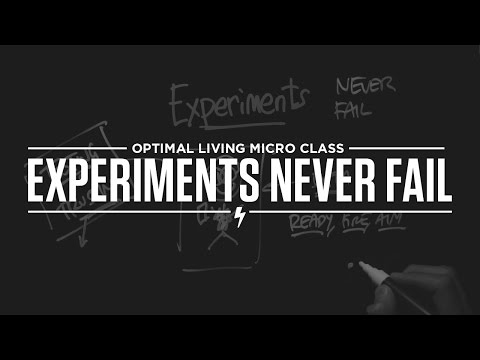 Micro Class: Experiments Never Fail