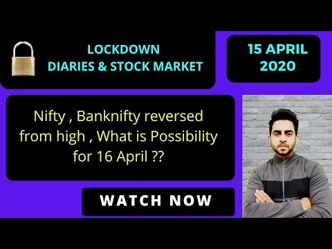 Nifty Banknifty View For 16 April ,After Big Reversal Today