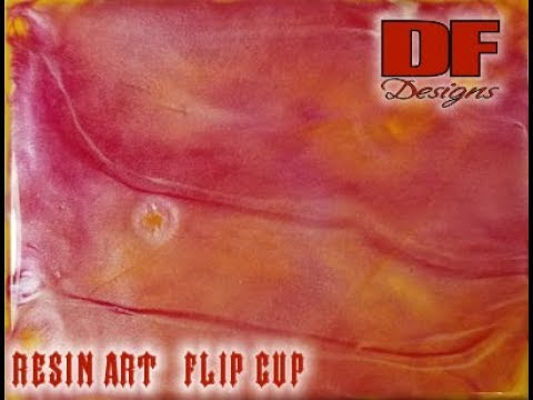 #30 Resin Art Flip Cup | Resin Pouring | Resin Tutorial | Resin For Beginners