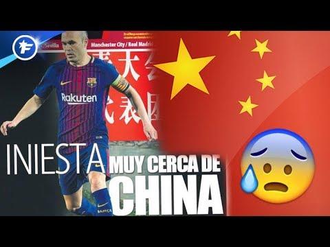Andrés Iniesta vers la Chine ? | Revue de presse