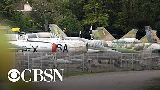 French vineyard home to world's largest fleet of fighter jets