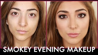 Smokey Evening Makeup: Chit Chat Get Ready With Me