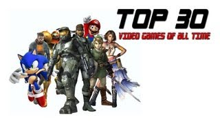 Top 30 Video Games - Dark Pixel