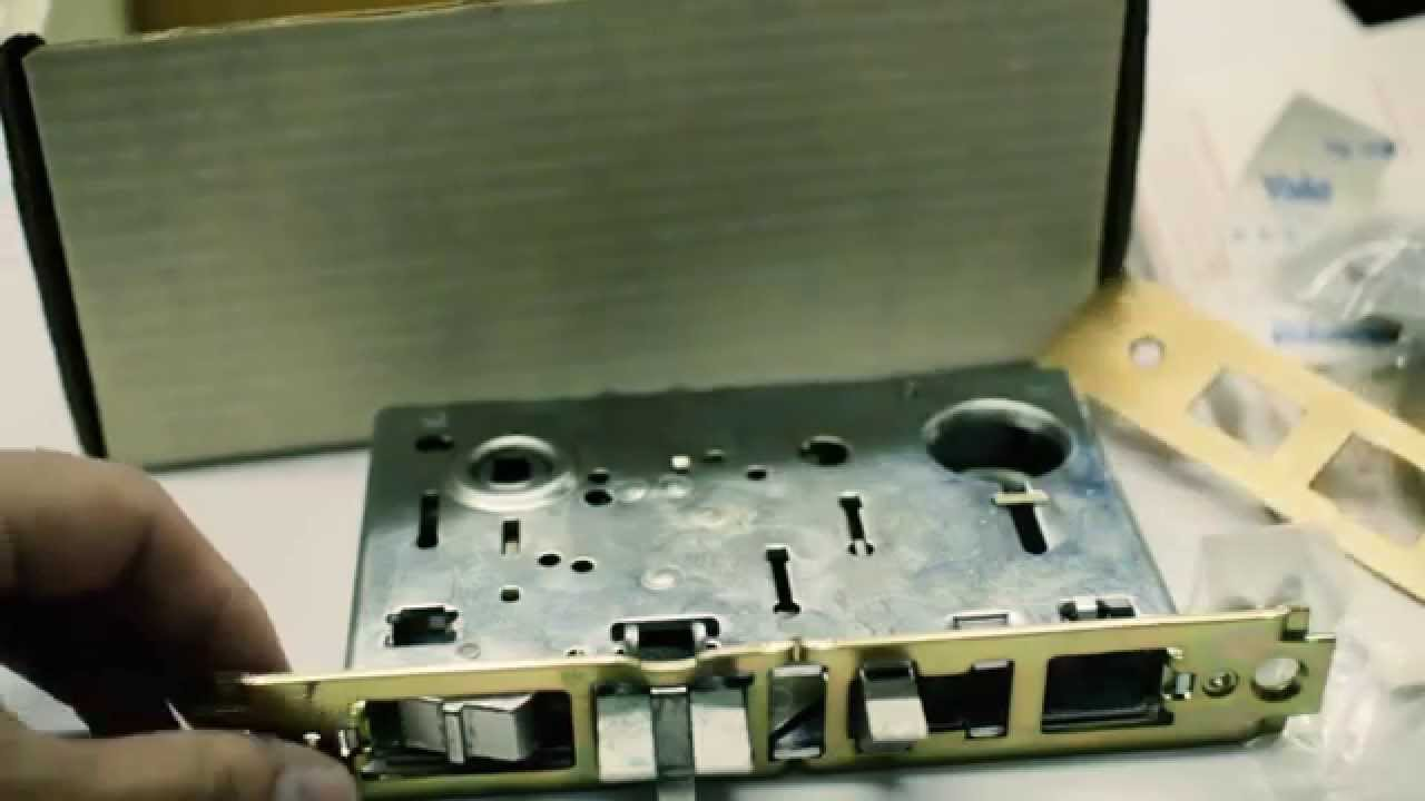 Yale Mortise Lock 8700 Series Youtube