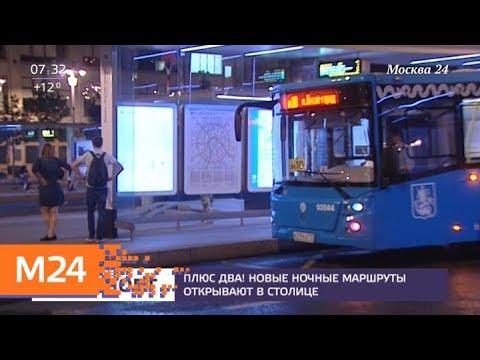 Два новых ночных автобусных маршрута запустят в Москве - Москва 24