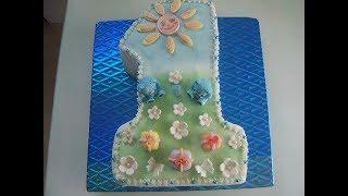 Торт на 1 день рождения