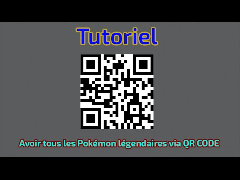 tutoriel avoir tous les pok mon l gendaires via qr code youtube. Black Bedroom Furniture Sets. Home Design Ideas