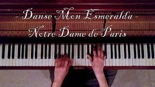 Danse Mon Esmeralda (Notre Dame de Paris) - Piano Cover